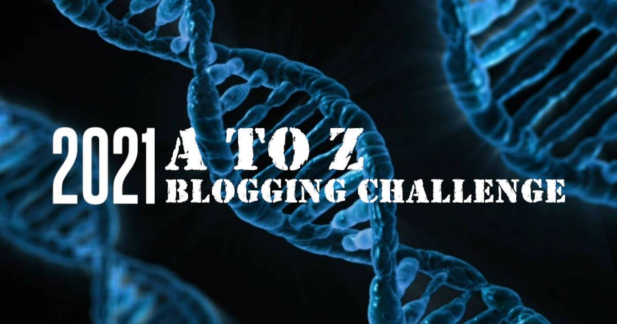 2021 A-TO-Z Blogging Challenge